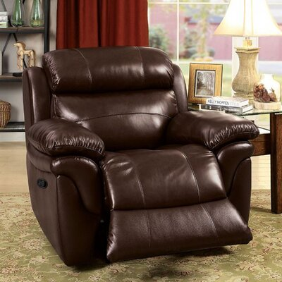 Stevens Point Leather Recliner