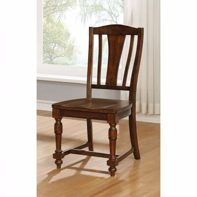 Amold Transitional Solid Wood Dining Chair