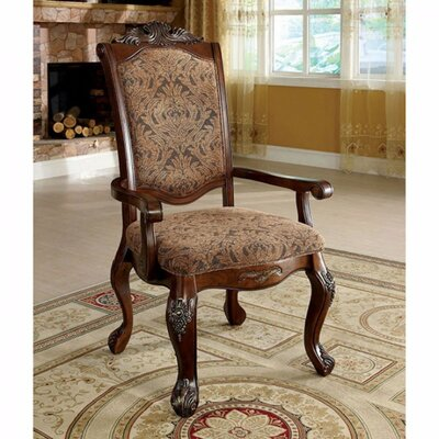 Barrville Solid Wood Arm Chair
