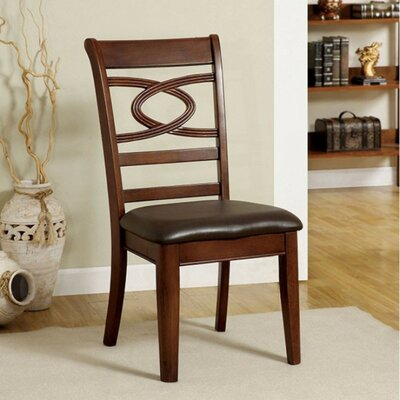 Cong Transitional Solid Wood Dining Chair