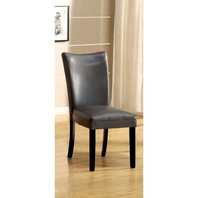 Rohando Solid Wood Dining Chair Color: Gray
