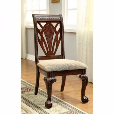 Barryknoll Traditional Upholstered Dining Chair