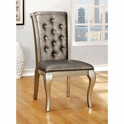 Bucknell Solid Wood Upholstered Dining Chair