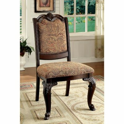 Barwood Traditional Upholstered Side Chair