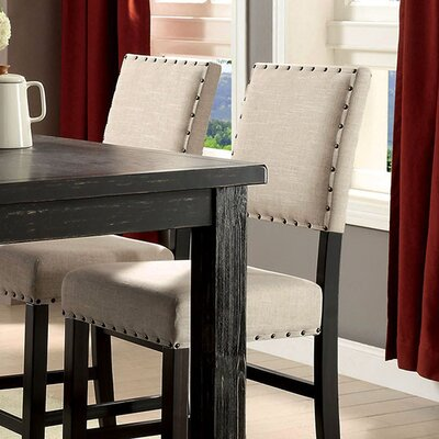 Adalard Rustic Solid Wood Dining Chair