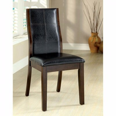 Lynnsy Transitional Solid Wood Dining Chair