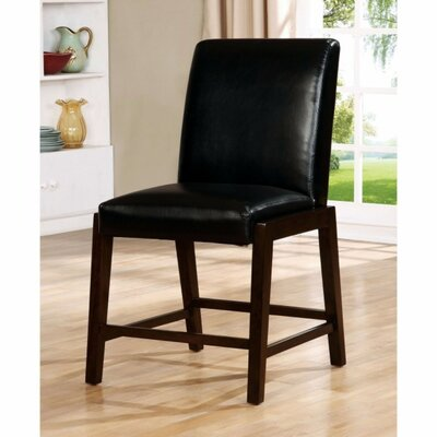 Shequita Transitional Solid Wood Veneer Dining Chair