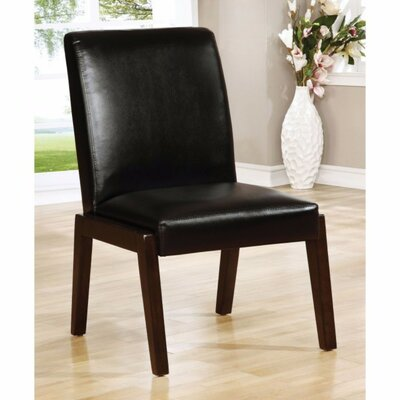 Shequita Transitional Solid Wood Dining Chair