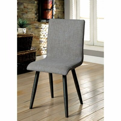 Charli Mid-Century Modern Solid Wood Dining Chair