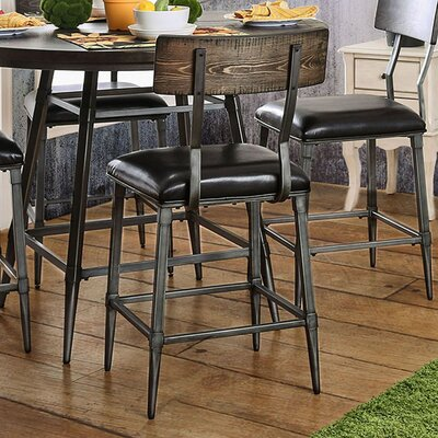 Caressee Industrial Dining Chair