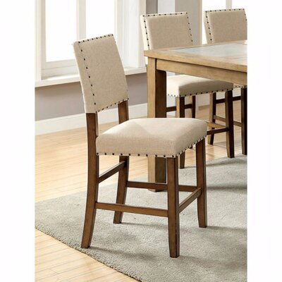 Wanda Industrial Upholstered Dining Chair