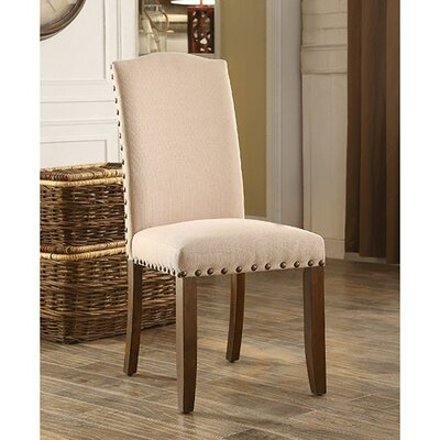 Amald Transitional Solid Wood Dining Chair