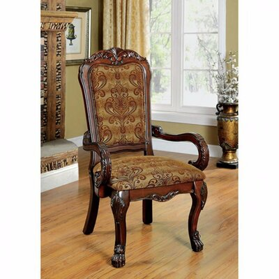 Bataan Sea Solid Wood Dining Chair Color: Cherry