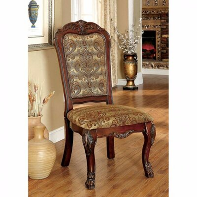 Bataan Solid Wood Dining Chair Color: Cherry