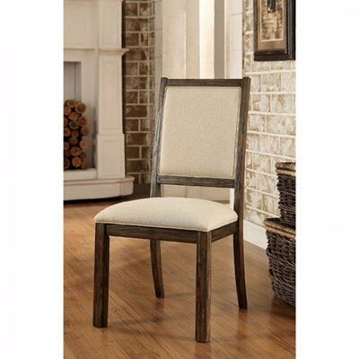 Aragam Industrial Upholstered Dining Chair