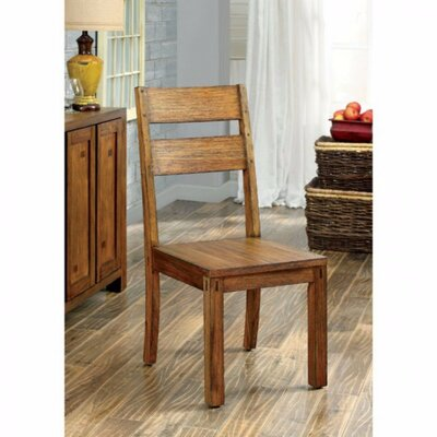 Ramsay Rustic Solid Wood Dining Chair
