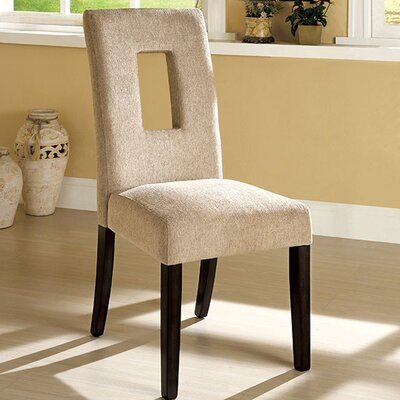 Ritenour Contemporary Solid Wood Dining Chair
