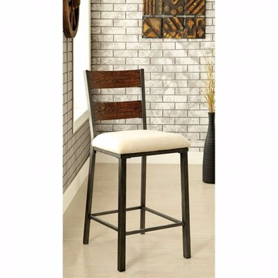 Carolos Industrial Solid Wood Dining Chair