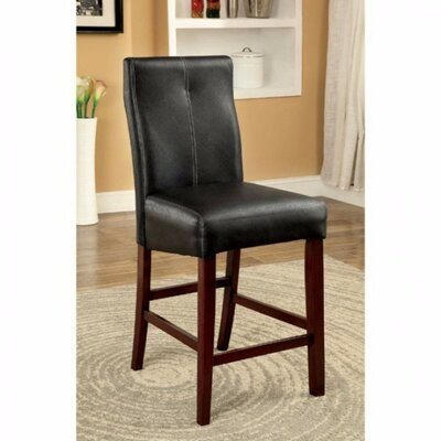 Weronika Contemporary Leather Upholstered Dining Chair