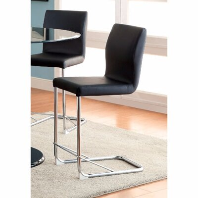 Ballymena Upholstered Dining Chair Color: Black