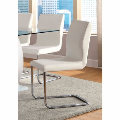 Ballymena Solid Wood Dining Chair Color: White