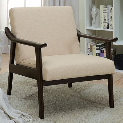 Mckayla Accent Chair Upholstery: Beige