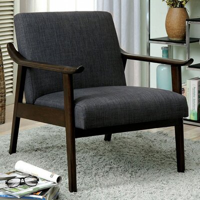 Mckayla Accent Chair Upholstery: Gray