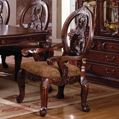 Beckemeyer Solid Wood Armchair Frame Color: Cherry