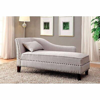 Jordon Chaise Lounge Upholstery: Beige