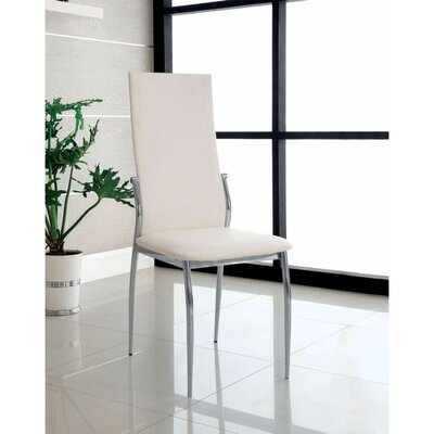 Milan Dining Chair Color: White