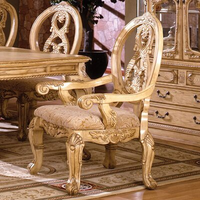 Beckemeyer Solid Wood Armchair Frame Color: Natural