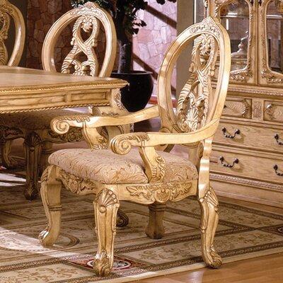 Beckemeyer Upholstered Dining Chair Frame Color: Natural