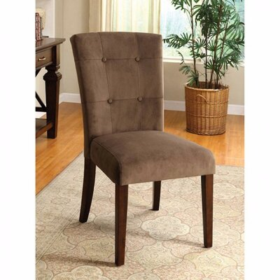 Zaria Tufted Solid Wood Dining Chair