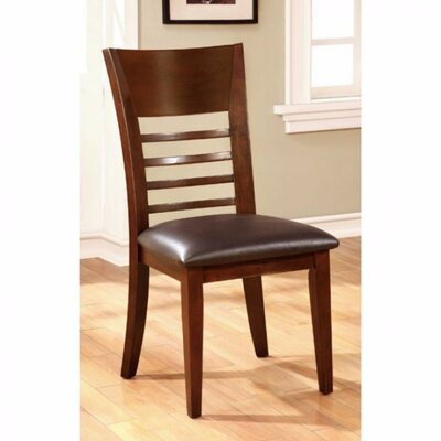 Carlinville Transitional Solid Wood Side Chair