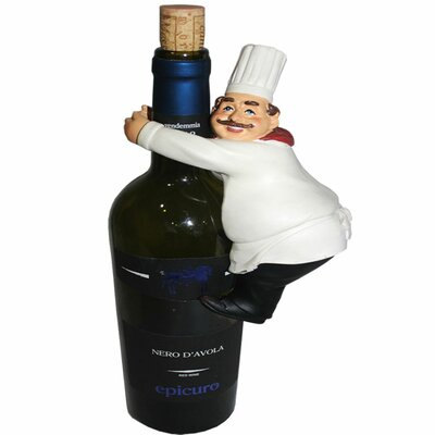 Abdul Chef Modern 1 Bottle Tabletop Wine Rack
