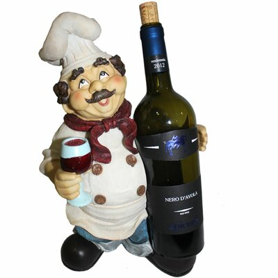 Abdul Chef Exclusive 1 Bottle Tabletop Wine Rack
