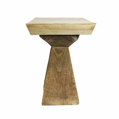 Bankey Functional Wooden End Table