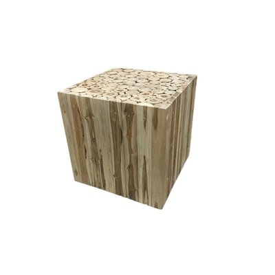 Leu Intriguing Square Root Decoration End Table