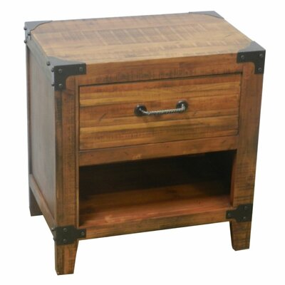 Malbrough Well Crafted 1 Drawer Nightstand
