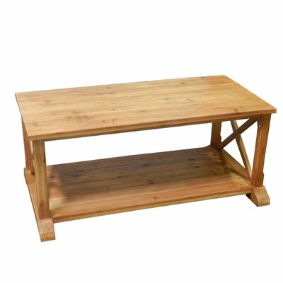 Burlington Wooden Coffee Table