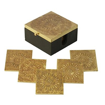 Handmade Square Coaster BLMK2366 43942779