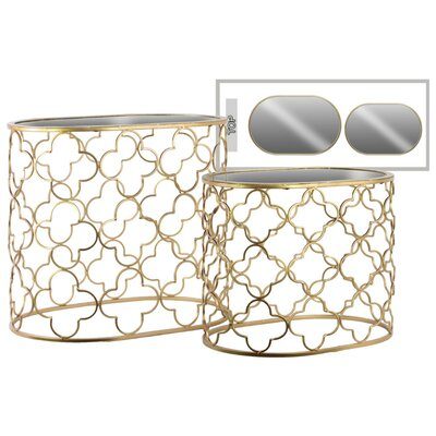 Rivera Oval 2 Pieces Nesting Tables