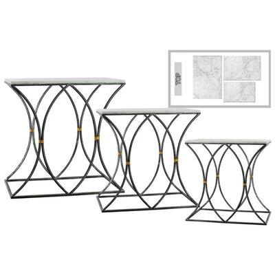 Heier Contemporary 3 Pieces Nesting Tables