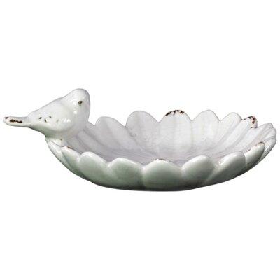 Flabbergasting Ceramic Bird Feeder BRU-13600