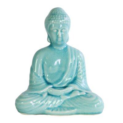 Lanesboro Calming Buddha Figurine with Rounded Ushnisha In Dhyana Mudra BLMK1705 43617206