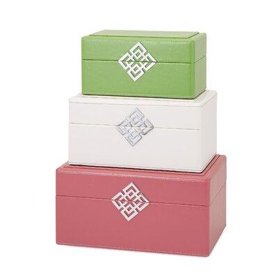3 Piece Jewelry Box Set