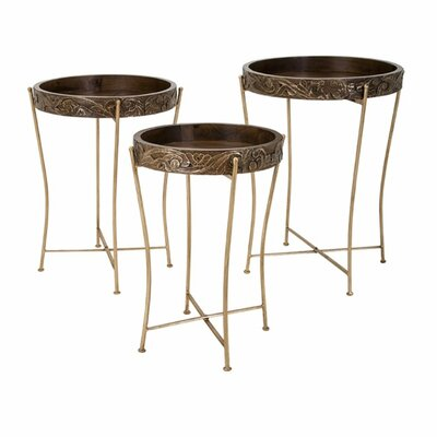 Stacia 3 Piece Tray Tables