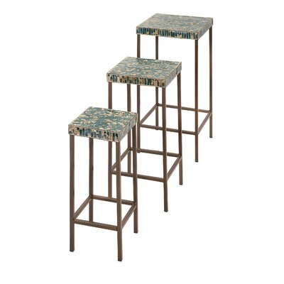 Compton Martin Mosaic 3 Piece Nesting Tables