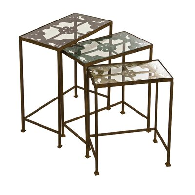 Crossville 3 Piece Nesting Tables