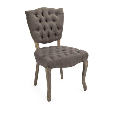Nilda Durable Tufted Occasional Side Chair